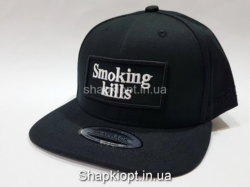 Бейсболка Smoking kills РЭП