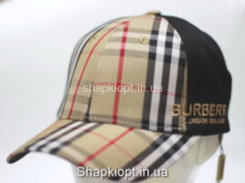 Бейсболка BT (BURBERRY) клетка с в/о пропиткой К