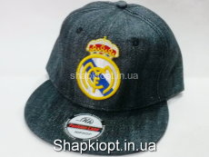 Бейсболка FC Madrid(REAL) Джинс